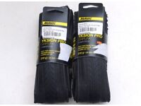 A Pair of Mavic Yksion Pro GripLink Road Bike Clincher Tyres 700-25 RRP £80 Light Fast Durable