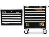 Halfords proffessional stacked toolchest 2 piece