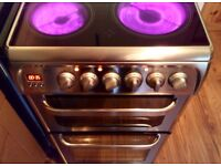 ...Hotpoint Ultima ® Ceramic Cooker Double Oven /Fan Assisted .... like New...