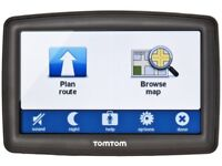 SAT NAV TOM TOM XL IQ ROUTES 2 WITH UK MAPS. GOOD CONDITION AND WORKS PERFECTLY