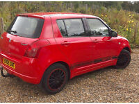 Suzuki Swift, 2006, 1.3 GL 5-door. 96k miles. An absolutely ideal first car.