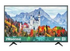 """NEW UNBOXED SEALED 43"""" Hisense 4k Smart TV"""