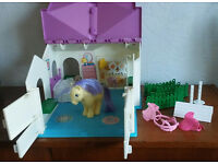 Vintage G1 My Little Pony Show Stable