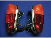 classic mini mk1 rear tail lights brand new