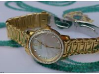 Ladies CITIZEN Eco-Drive Swarovski® Crsytal & Mother of Pearl watch