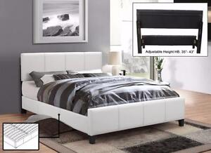 New Upholstered Platform Queen beds (BEST PRICE, PAY ON DELIVERY)