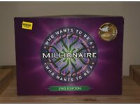 Who Wants to be a Millionaire 2nd Edition Board Game