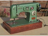 PINNOCK-FRIDOR Vintage Quality Sewline Sewing machine - ZigZag capable - Spares or repair