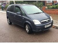 VAUXHALL MERIVA 57 PLATE BLUE BREAKING FOR SPARES