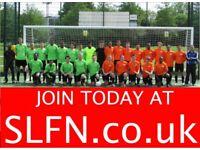 Join footballclub in SouthLondon,find football near me 191hg2