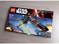 Brand New Unboxed LEGO Star Wars 75102 Poe's X-Wing Fighter
