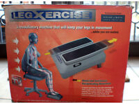 MOTORISED ELECTRIC FOOT LEG EXERCISER in box