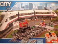 Brand new never been opened Lego city passenger train set