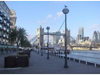 Stay at riverside near Tower Bridge, 06 - 15 Oct