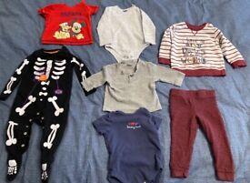 6-9 + 9-12 months boys bundle clothes