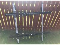 Roof bars and bike carriers