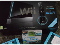 Wii Sports + Wii Sports Resort in original packaging with extra controller and Zumba fitness