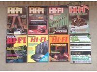 8x hi-fi magazines from 1979