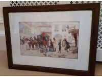 french antique picture
