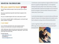 Experienced multi-style Yoga Teacher Instructor - yoga at home and at work