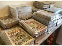 Huge Vintage UK and US Comics bundle joblot 1350+ comic 1950s-2000s