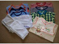 Baby Boys Clothes Bundle Age 9 - 12 mths