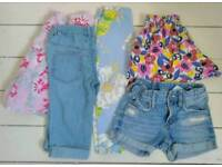 Bundle of girls summer clothes age 3-4 Boden H&M Laura Ashley M&S