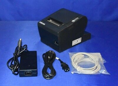Microsepson Tm-t88iii Thermal Printer Micros Serial Interface - W Warranty