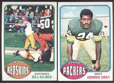 1976 TOPPS FOOTBALL - YOU PICK NUMBERS #1 - #200 - NMMT OR