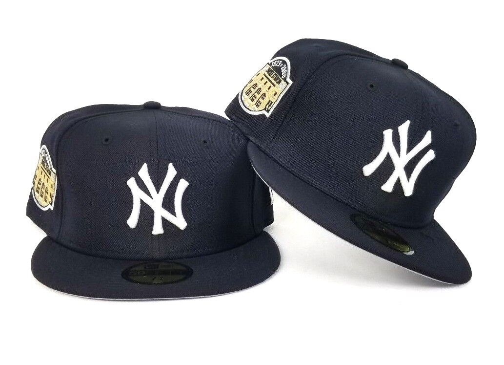 dd20add8a0947b New Era New York Yankees 1923 -2008 Stadium Side patch Navy Blue 5950 Fitted  Hat