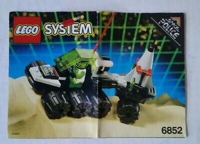 "LEGO Space Police 2 ""SONAR SECURITY"" #6852 - COMPLETE - 1 OWNER - 63 PCS / 1993"