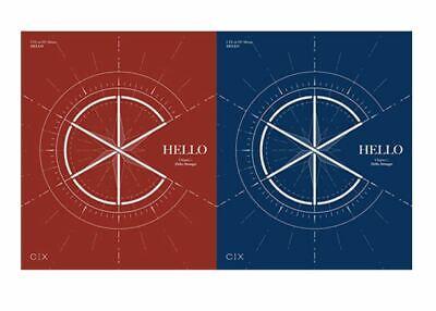 """CIX 1st EP Album """"HELLO"""" Chapter 1. - 1 Photobook + 1 CD / Official Stranger Ver"""