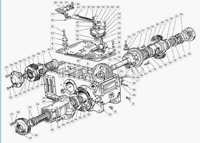Belarus Tractor Rear Axle 600611615650652
