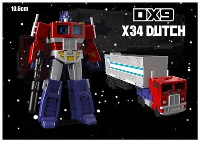 Transformers DX9 Toys War in Pocket X34 Dutch G1 Mini Optimus Prime Will arrival