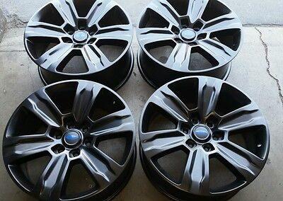 "FORD F150 F-150 20"" 20  Black LIMITED OEM FACTORY WHEELS RIMS for sale  Huntington Beach"