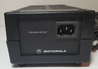Motorola Hpn4007c Desktop Base Station Power Supply For Xtl Apx Xpr Cdm Radios