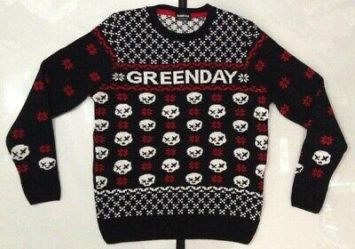 Green Day Men's Christmas Sweater Medium
