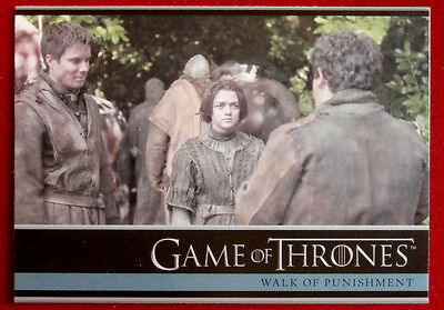 GAME OF THRONES - WALK OF PUNISHMENT - Season 3, Card #08 - Rittenhouse - 2014