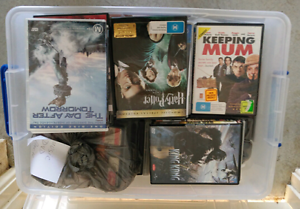 Dvds n blu Ray mix lot container FULL Munster Cockburn Area Preview