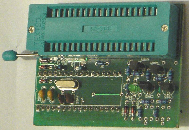 *NEW* MCS-48 Adapter for LPT Willem EPROM programmer !