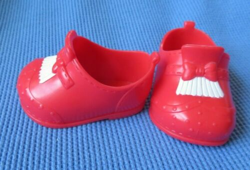 """Little Mommy  RED  DOLL SHOES replacement for 14"""" doll fisher price"""