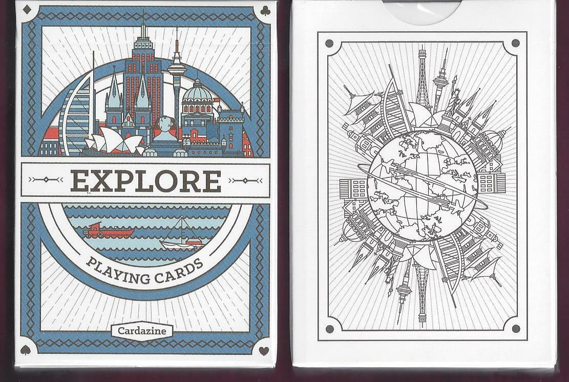 1 DECK Explore custom playing cards FREE USA SHIP