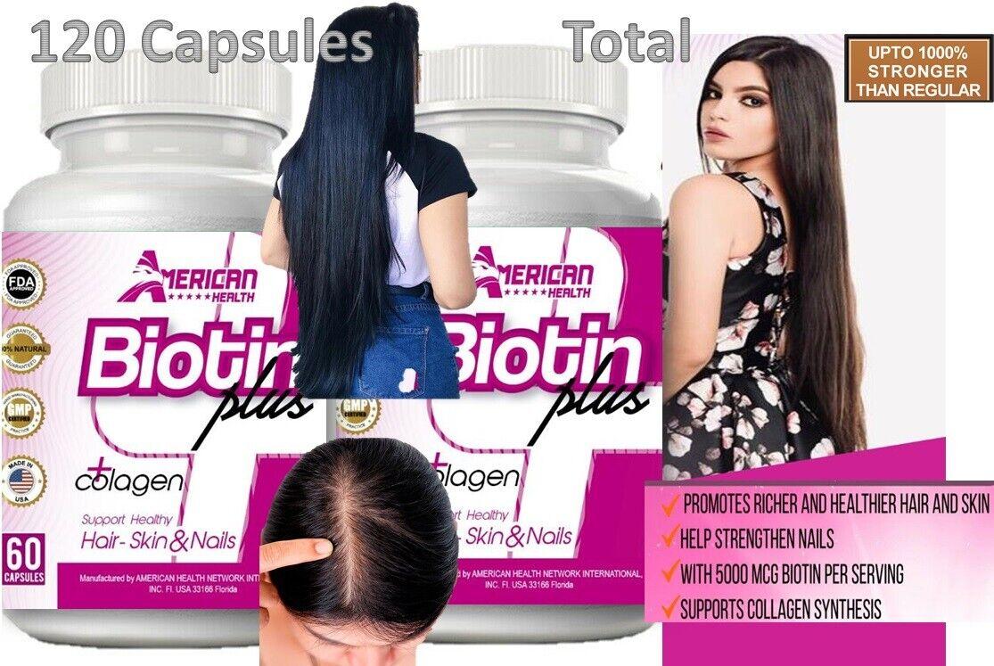 astillas Para Crecer El Pelo Y Acelerar El Crecimiento Del Cabello Vitaminas 120