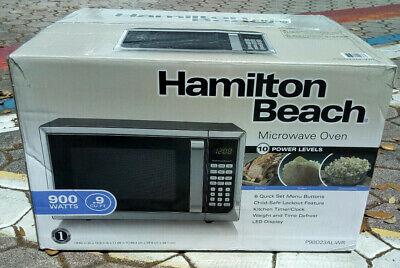 Hamilton Beach P90D23ALWR 900W Countertop Microwave Oven