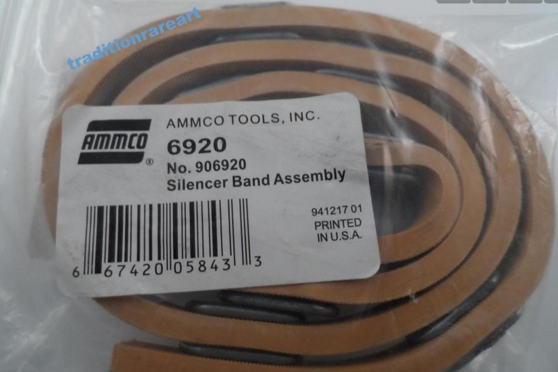 9800 11494V Brake Lathe Ventilated Rotor Spring Silencer Band for Ammco 909800