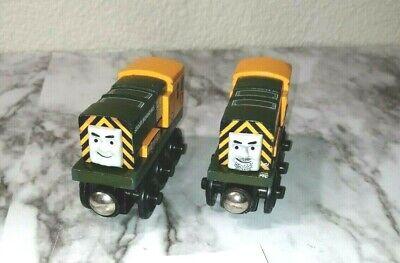 Authentic Thomas & Friends Magnetic Wooden IRON BERT & IRON 'ARRY Train Car #11