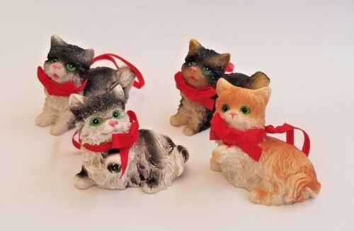 Litter of Kittens Christmas Ornaments
