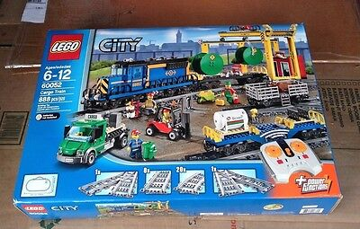 Lego City Cargo Train set 60052 NEW in factory sealed box 888 pcs