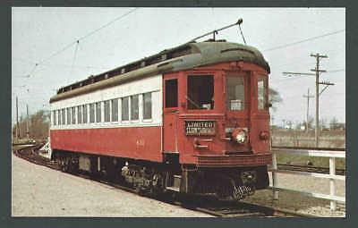 Ca 1965 PPC* Chicago & Aurora & Elgin #431 Electric Built By Cincinnati See Info