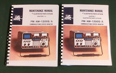 Ifr Fmam 1200sa Communications Monitor Service Manual W11x17 Schematics